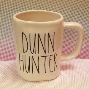 """Brand new  Rae Dunn """"DUNN HUNTER"""" coffee mug"""